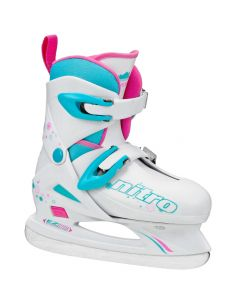 Nitro 8.8 Girl's Adjustable Ice Skates